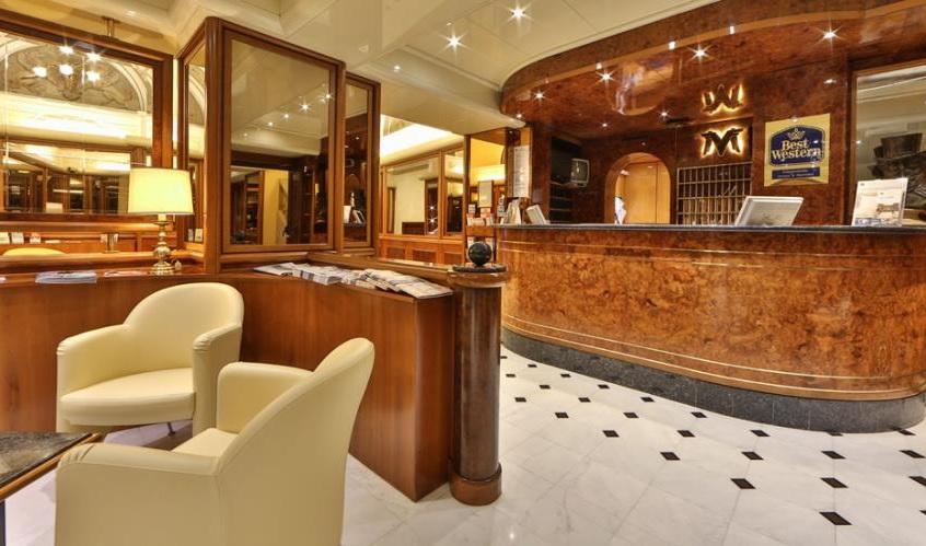 Hotel M. Verdi ingresso
