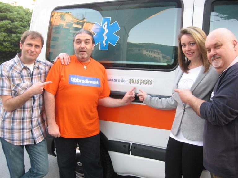13 Ambulanza Verde 2013 Lavagna 2