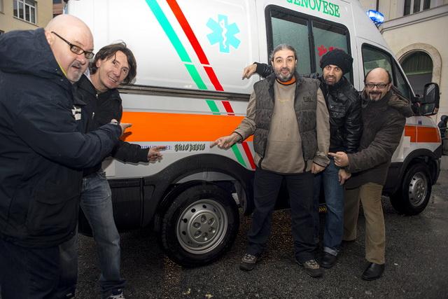 15 Ambulanza Verde 2014 Genova 2
