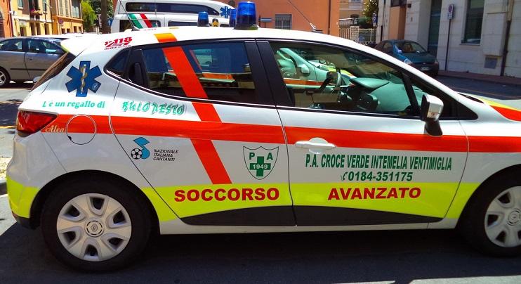 16 Ambulanza Verde 2014 Ventimiglia 1 DEF