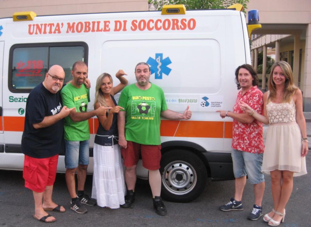 Ambulanza Verde 2015 Lavagna 3